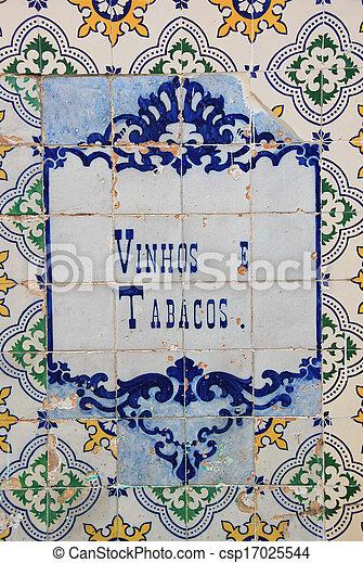 tile), (ceramic, azulejo - csp17025544