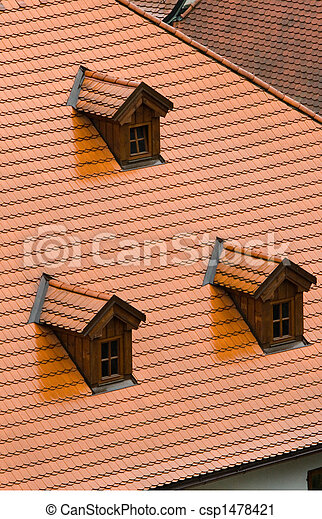 Tile roof - csp1478421