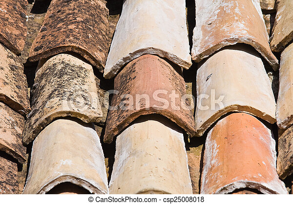 Tile roof. - csp25008018