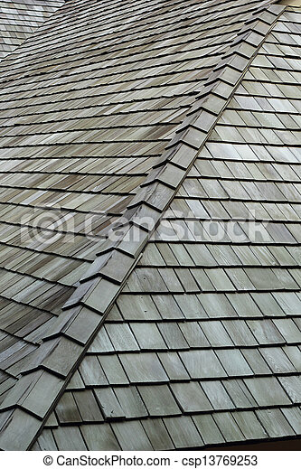 Tile roof. - csp13769253