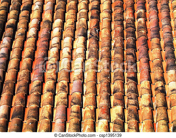 tile roof - csp1395139