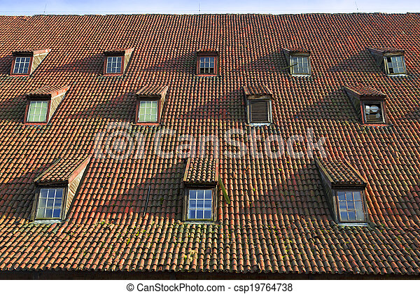 tile roof - csp19764738