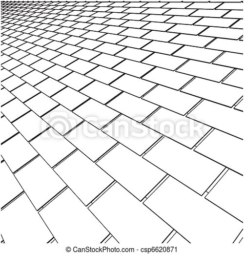 Tile Roof - csp6620871