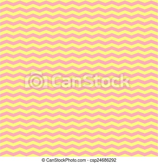 Tile Vector Pink And Yellow Zig Zag Pattern Or Decoration Background.    CanStock