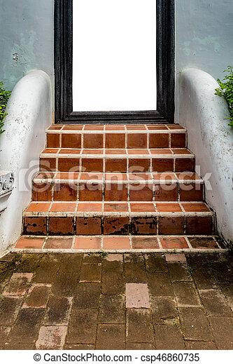 Tiles Concrete Staircase   Csp46860735
