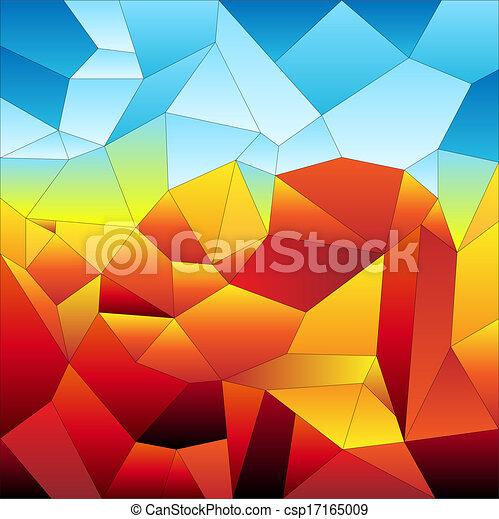 tiles-futuristic, モザイク - csp17165009