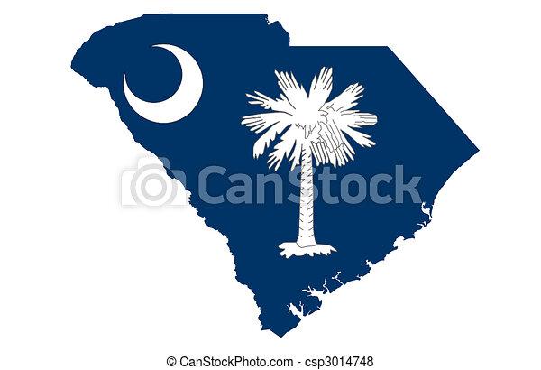 tillstånd, södra carolina - csp3014748