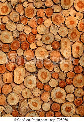 Timber log background - csp17250601