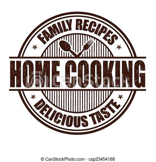 timbre, cuisine maison - csp23454168