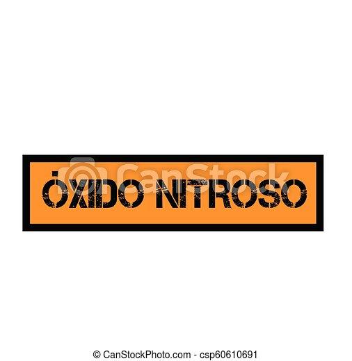 timbre, oxyde, nitreux, espagnol - csp60610691