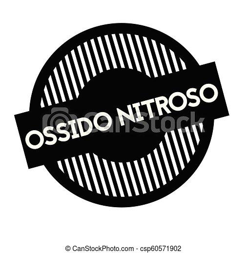 timbre, oxyde, nitreux, italien - csp60571902