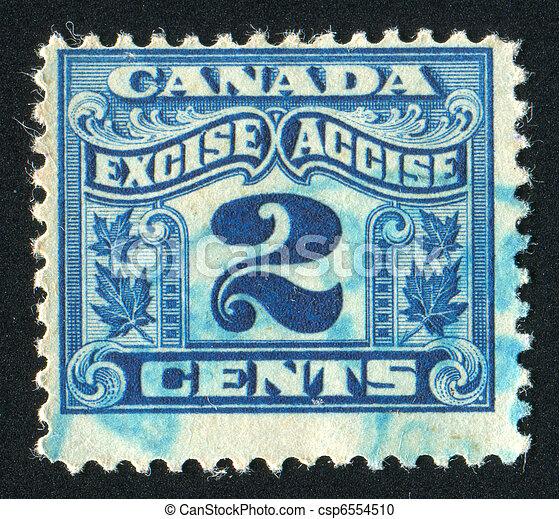 timbre postal - csp6554510