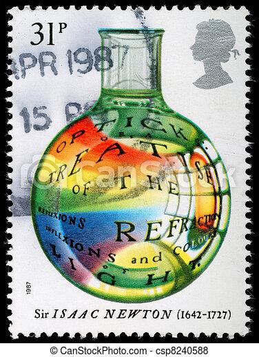timbre postal - csp8240588