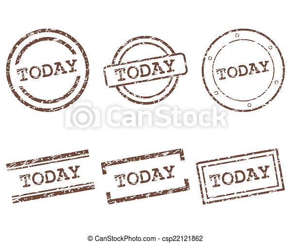 timbres, aujourd'hui - csp22121862