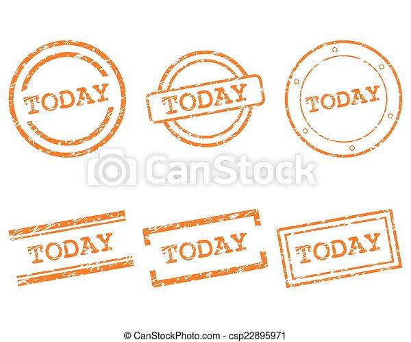 timbres, aujourd'hui - csp22895971