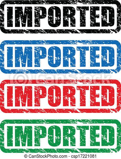 timbres, importé - csp17221081