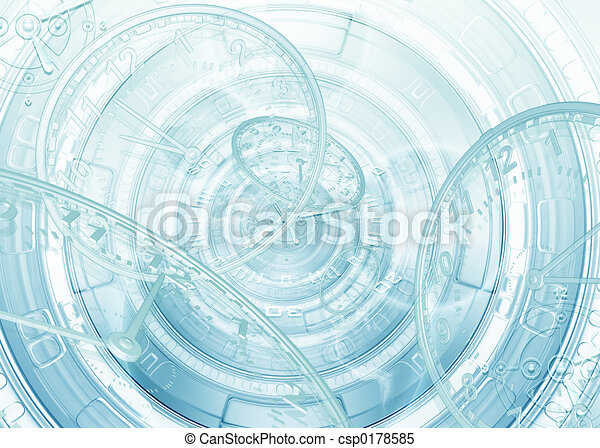 Time Abstract 01 - csp0178585