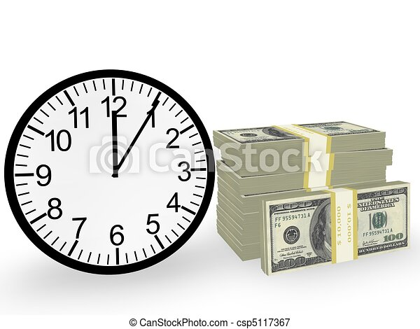 Time and Money  - csp5117367