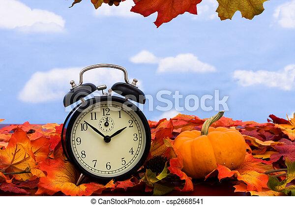 Time change - csp2668541