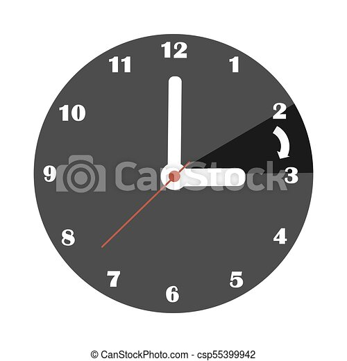time change spring day saving one hour forward eps vector daylight savings time 2018 free clip art Daylight Saving Time Begins Clip Art Free
