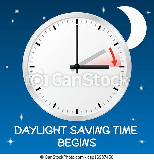 time change to daylight saving time - csp16387450