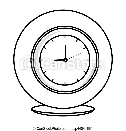 time clock watch icon - csp44041661