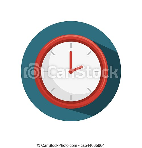 time clock watch icon - csp44065864