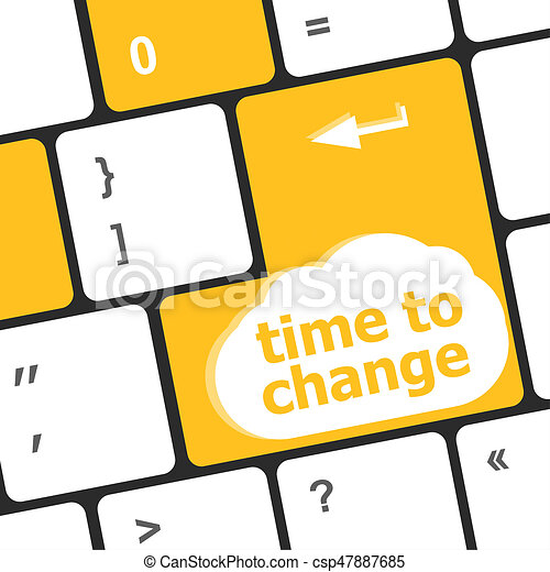 time concept computer keyboard word time to change stock rh canstockphoto com fall time change clipart time change clipart free