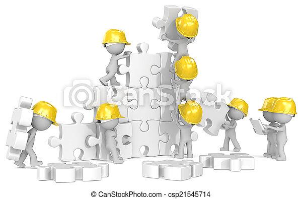 time., construction - csp21545714