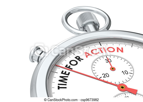 Time for Action. - csp9673982