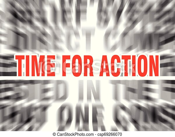 time for action - csp69266070