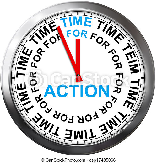 Time for Action - csp17485066