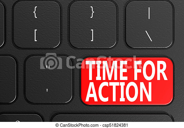 Time For Action - csp51824381