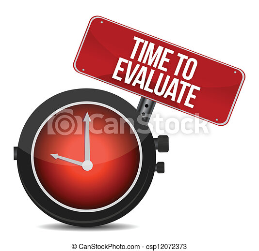 Time for Evaluate concept - csp12072373