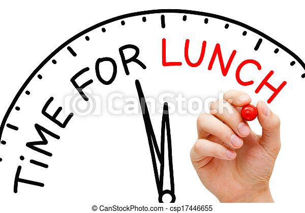 Time for Lunch - csp17446655