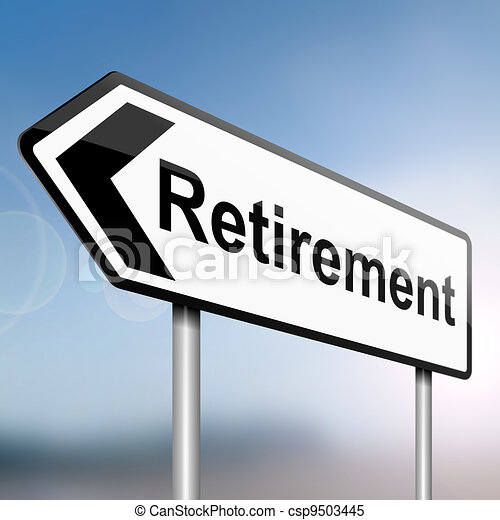 Time for retirement. - csp9503445