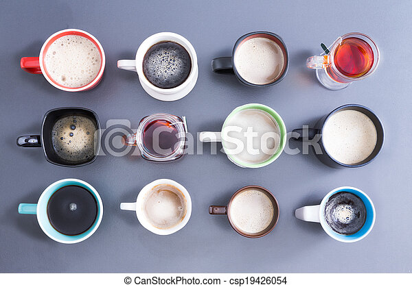 Time for your daily dose of caffeine - csp19426054