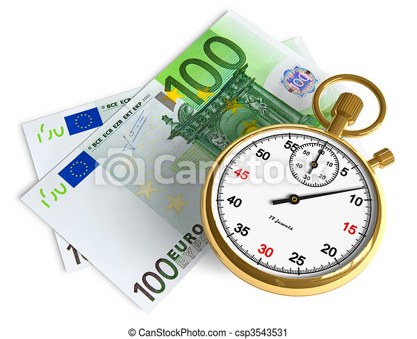 Time is money  - csp3543531