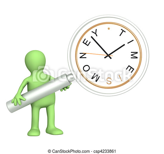 Time is money - csp4233861