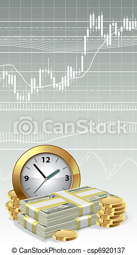 Time is money concept - csp6920137