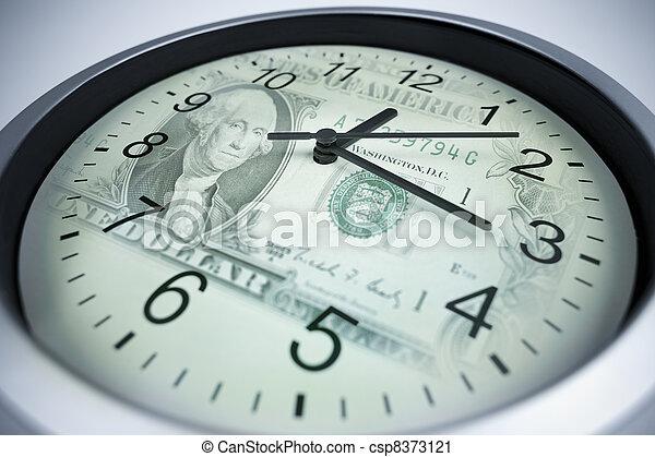 time is money concept - csp8373121