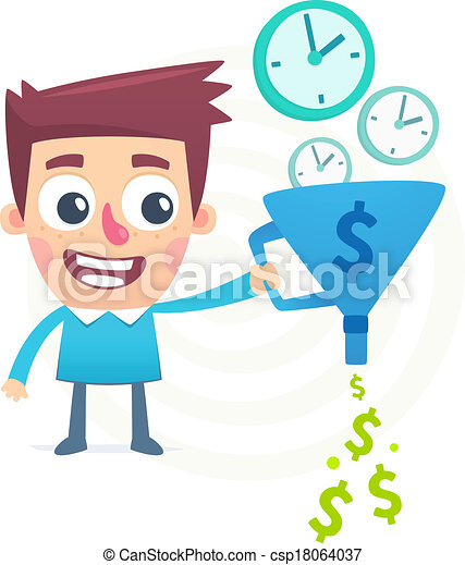 time is money - csp18064037