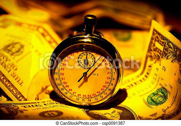Time is Money - csp0091387