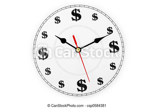 time is money - csp0584381