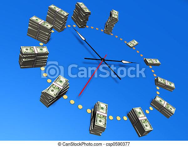 Time is money - csp0590377