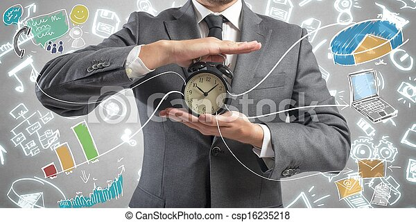Time is money - csp16235218