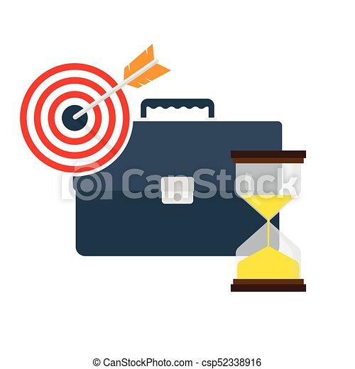time management concept vector illustration time vector clip rh canstockphoto com bad time management clipart