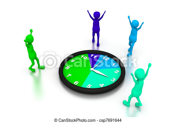 time management drawing search clip art illustrations and eps rh canstockphoto com