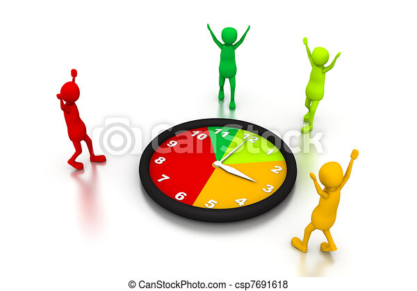 time management stock illustration search eps clip art drawings rh canstockphoto com Risk Management Clip Art Risk Management Clip Art
