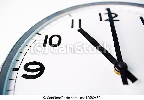 Time o?clock - csp12582459